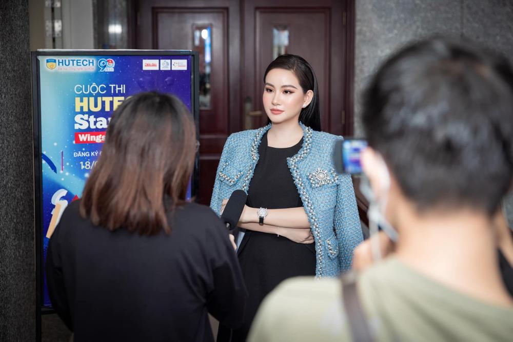 Doanh nhân Võ Thị Ngọc Huyền đảm nhận vai trò giám khảo cuộc thi HUTECH Startup Wings 2021 Ảnh 2