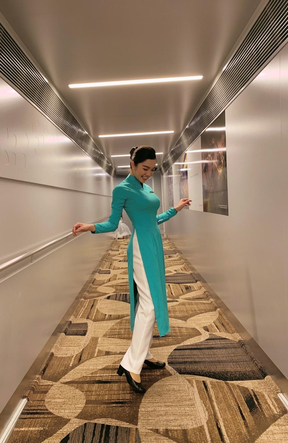 Tâm tư đẹp của nữ tiếp viên hàng không bén duyên với yoga - Võ Lê Thùy Trinh Ảnh 1