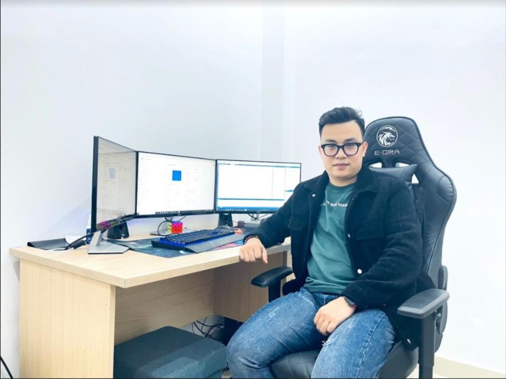 CEO Hoàng Văn Ngọc - Khi niềm đam mê dệt nên khát vọng vươn tầm quốc tế Ảnh 1