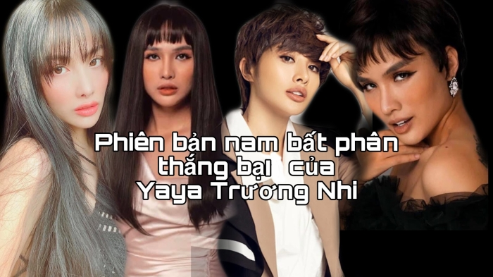 Bất phân thắng bại giữa thần tượng Yaya Trương Nhi và phiên bản Nam của Lgbt Duy Anh