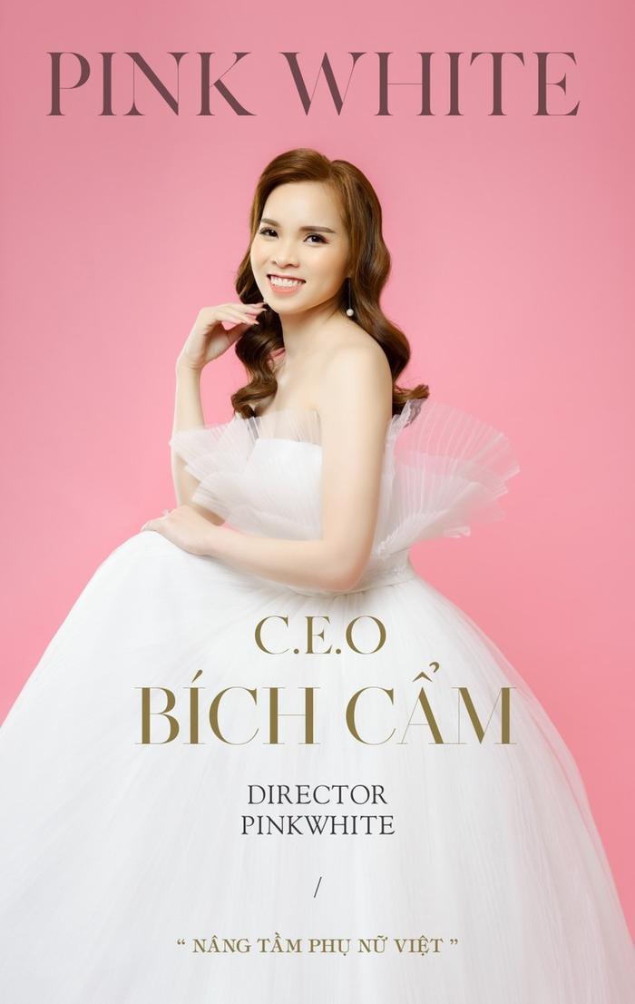 CEO Bích Cẩm và hành trình đưa thương hiệu Pink White ra thị trường Ảnh 1