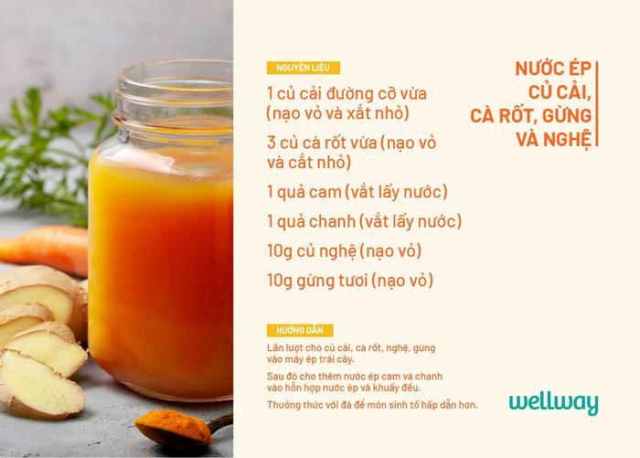 5 loại nước ép vừa ngon vừa giúp tăng sức đề kháng cho cơ thể mùa lạnh