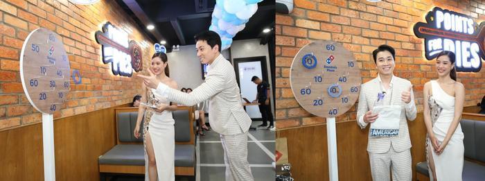 Sau chung kết Rap Việt, Karik trở thành 'Hoàng tử pizza' khuấy động buổi khai trương cửa hàng thứ 50 - Domino's Phạm Hồng Thái Ảnh 1