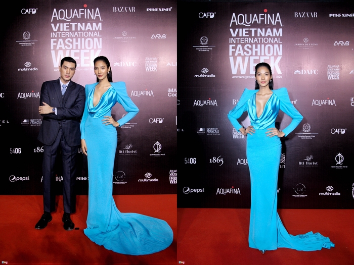 Hoa hậu Tiểu Vy và dàn mỹ nhân đọ vẻ gợi cảm trên thảm đỏ Ảnh 2