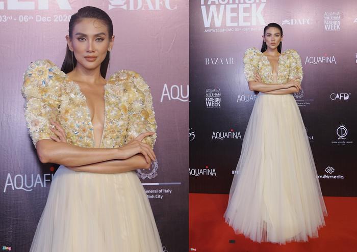 Hoa hậu Tiểu Vy và dàn mỹ nhân đọ vẻ gợi cảm trên thảm đỏ Ảnh 9