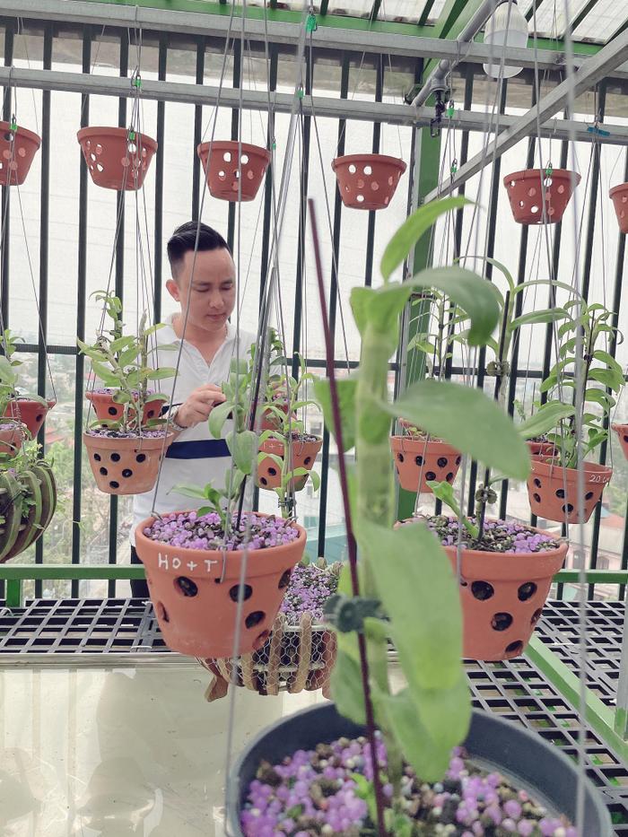 Ông chủ vườn lan 8X Tịnh Thắng: Từ tò mò sưu tầm nhiều giống hoa giá trị Ảnh 1