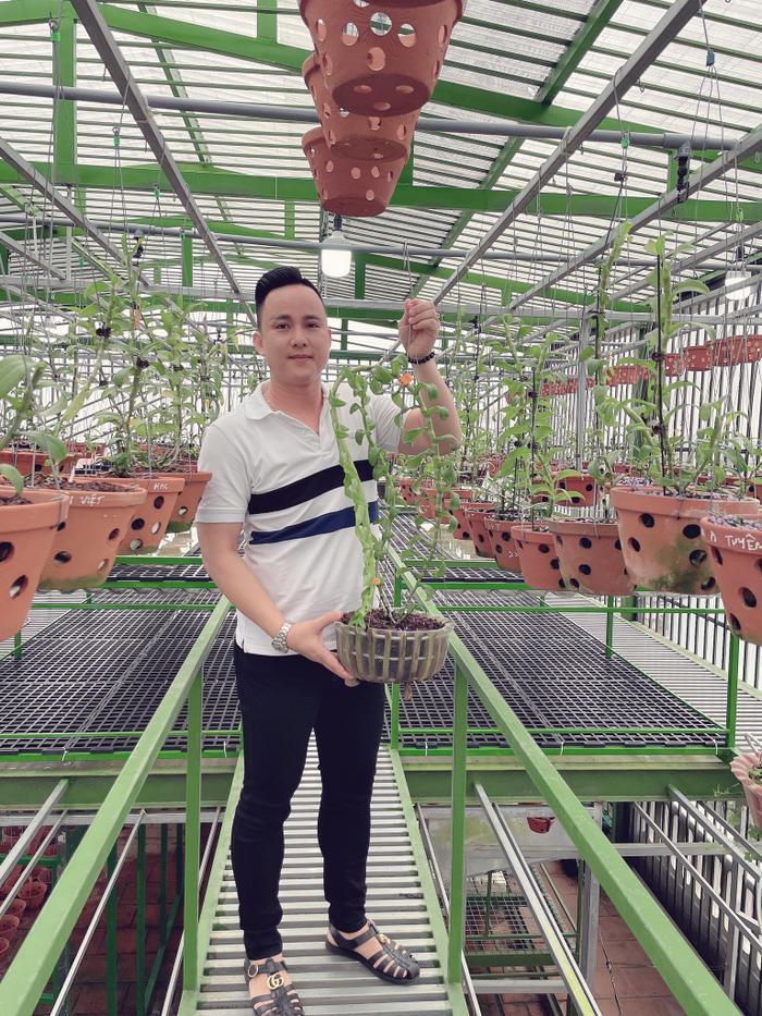 Ông chủ vườn lan 8X Tịnh Thắng: Từ tò mò sưu tầm nhiều giống hoa giá trị Ảnh 2