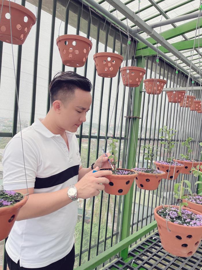 Ông chủ vườn lan 8X Tịnh Thắng: Từ tò mò sưu tầm nhiều giống hoa giá trị Ảnh 5