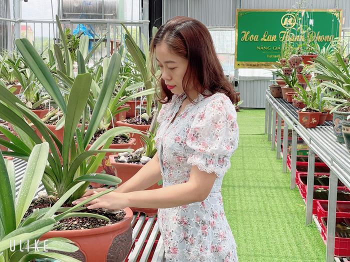 Câu chuyện sở hữu hàng chục loài lan quý của cô chủ Thùy Linh Ảnh 2