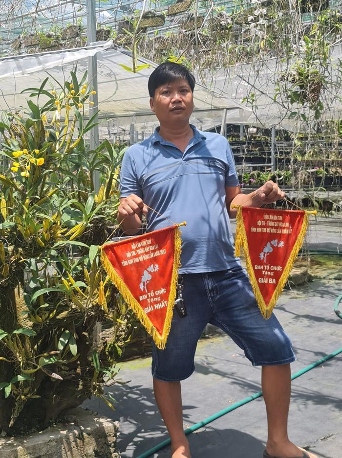 Chàng trai 8X Hữu Xướng: Người 'vượt khó' 15 năm cùng hoa lan Ảnh 4