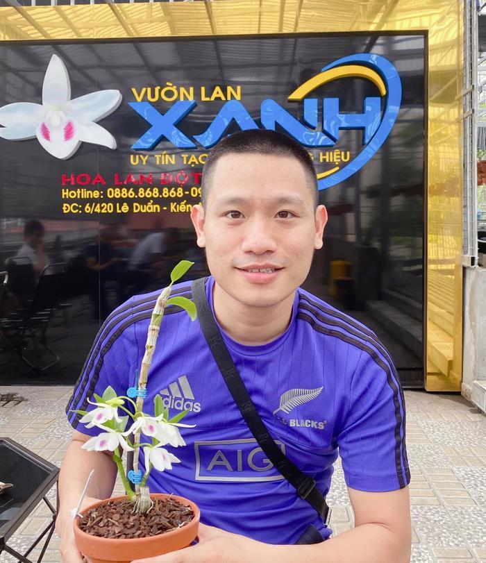 Nghệ nhân Phan Tiến tư vấn cách chọn giống hoa lan chất lượng nhất Ảnh 1