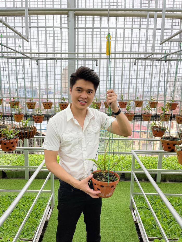 Thiếu gia họ Nguyễn: 'Trong nuôi trồng lan, khâu chọn giống là yếu tố quyết định' Ảnh 1