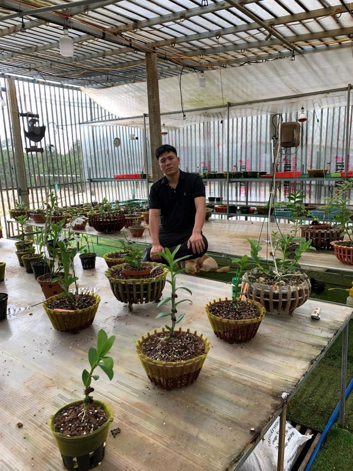 Bí quyết chăm sóc vườn lan của nghệ nhân Nguyễn Thành Chuyên Ảnh 1