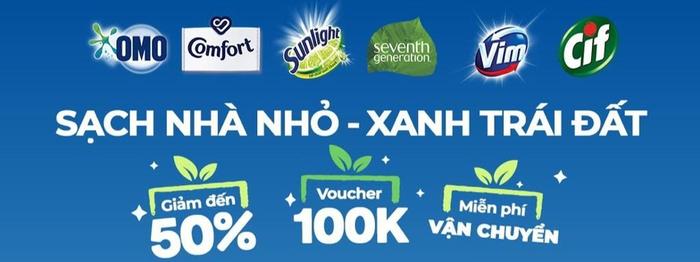 Unilever và Shopee chung tay thúc đẩy cộng đồng xanh sạch ở Đông Nam Á Ảnh 1