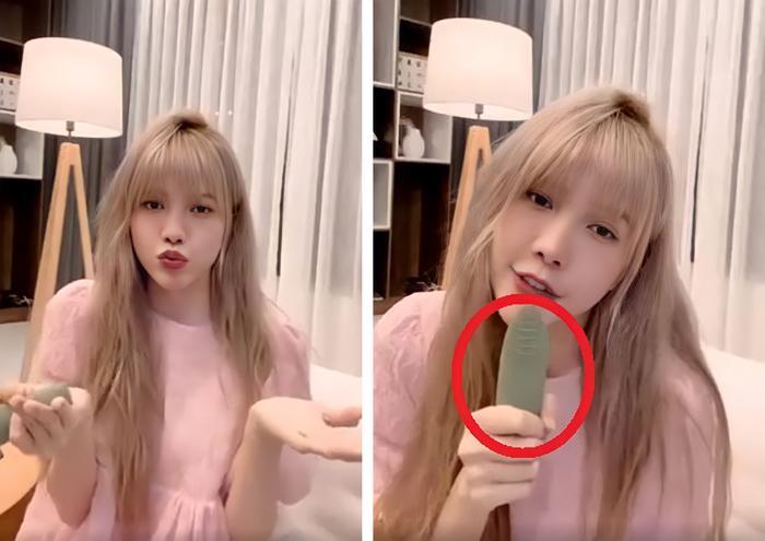 Thiều Bảo Trâm hát live Love Rosie nhưng 'vật lạ' trên tay mới là thứ khiến fans chú ý Ảnh 3