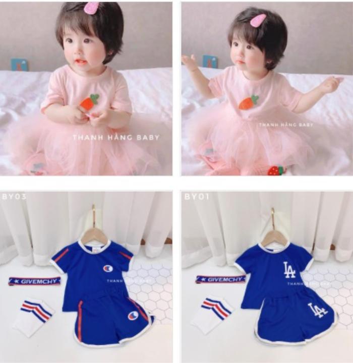 Thanh Hằng Baby: thế giới của những sắc màu đầm cotton hoạ tiết cho bé gái Ảnh 3