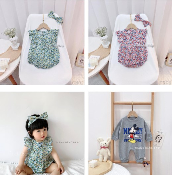Thanh Hằng Baby: thế giới của những sắc màu đầm cotton hoạ tiết cho bé gái Ảnh 2