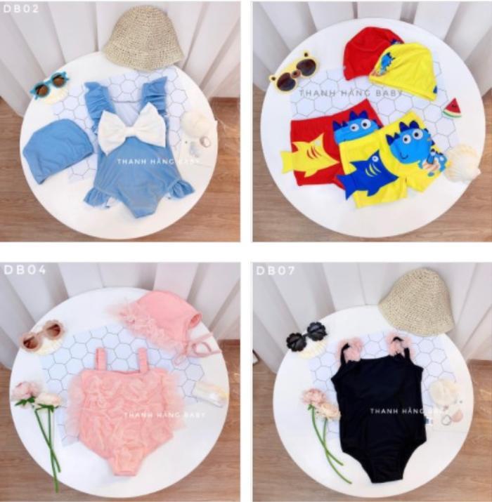 Thanh Hằng Baby: thế giới của những sắc màu đầm cotton hoạ tiết cho bé gái Ảnh 4