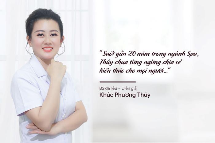 CEO – Bác sĩ Khúc Phương Thúy dẫn đầu trong lĩnh vực đào tạo – chuyển giao công nghệ làm hồng- trị thâm miễn phí cho chị em phụ nữ Ảnh 1