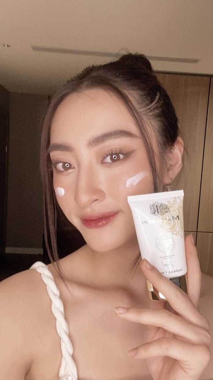 Kem chống nắng hoàng cung Magic Skin được hoa hậu Lương Thùy Linh tin dùng