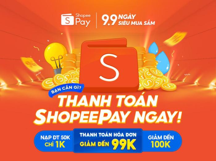 9 lý do bạn không nên bỏ lỡ ngày siêu mua sắm 9.9 cùng ưu đãi thanh toán từ ShopeePay